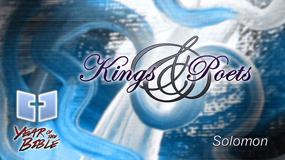1 Kings 3:1-14 (p.260) Solomon's prayer is for wisdom.