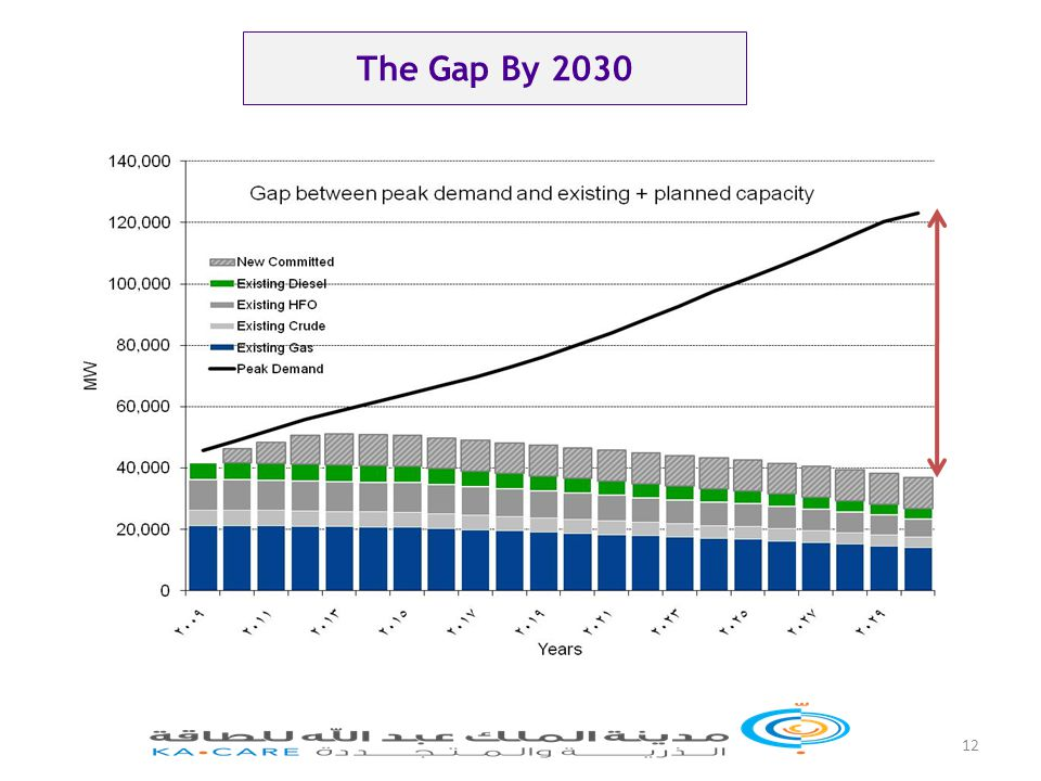 12 The Gap By 2030