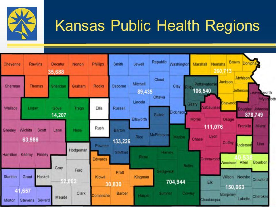 Kansas Public Health Regions