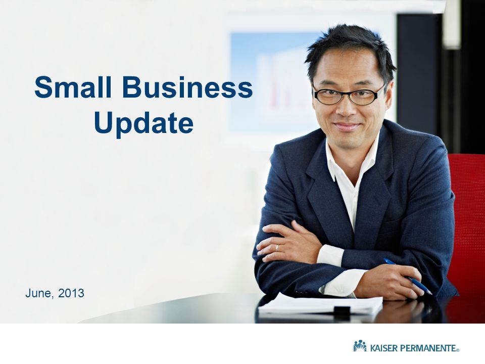 June, 2013 Small Business Update