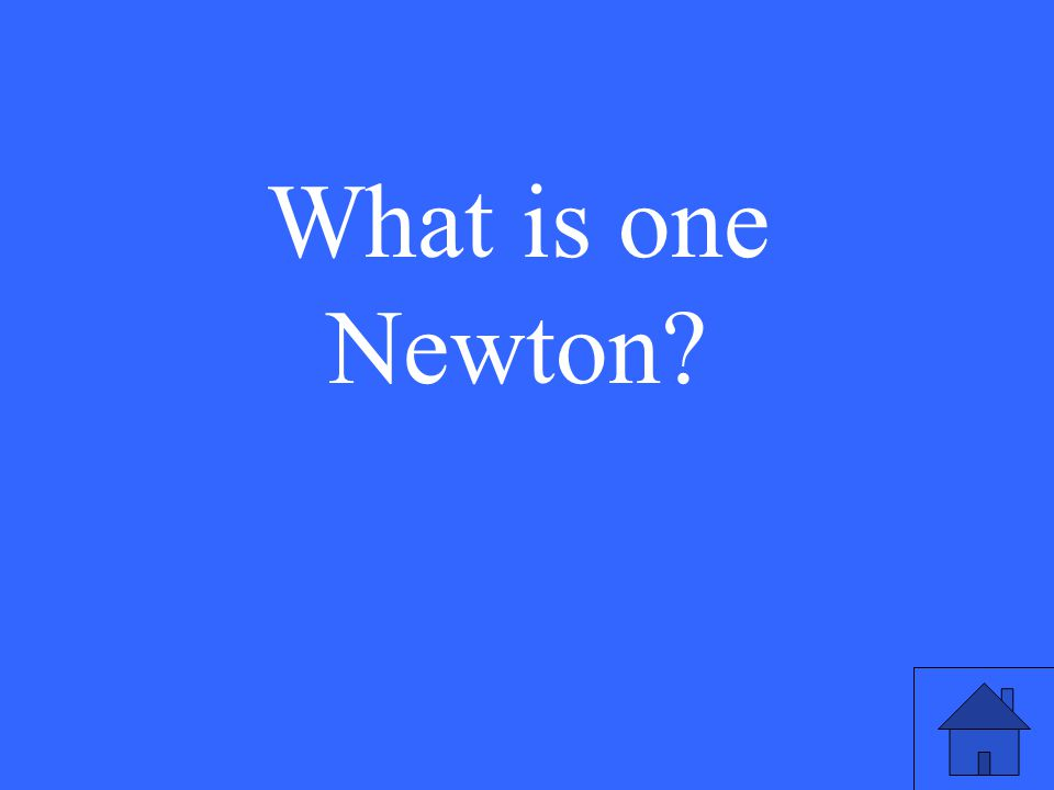 What is one Newton