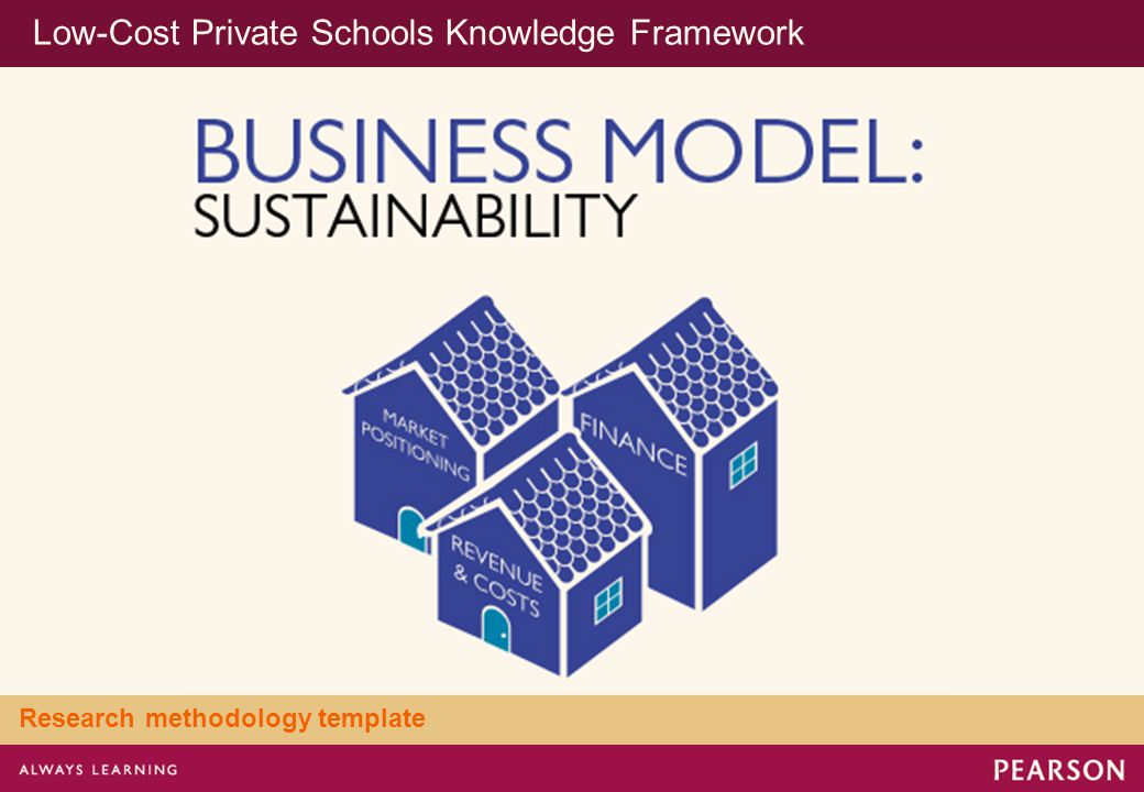 Low-Cost Private Schools Knowledge Framework Research methodology template