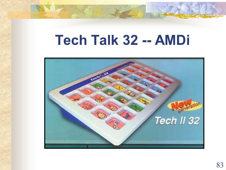 83 Tech Talk 32 -- AMDi