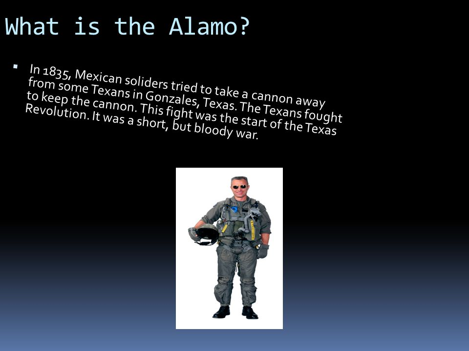 What is the Alamo.
