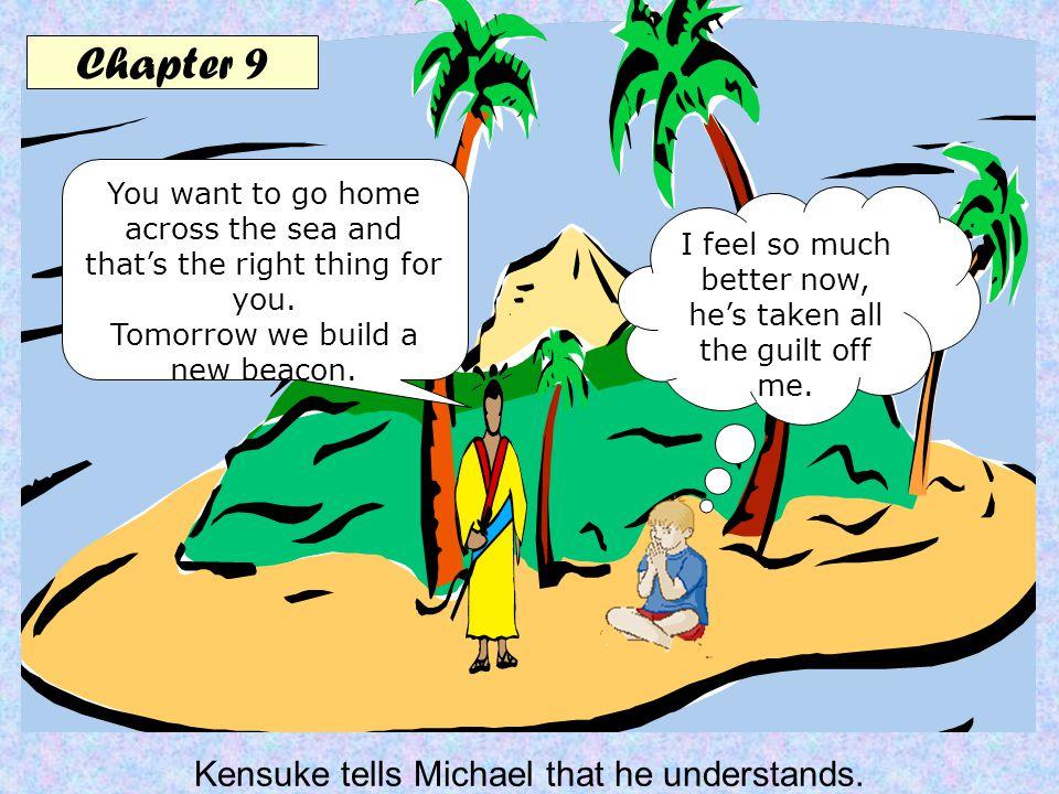 Chapter 10 Michael promises to keep Kensuke's secret.
