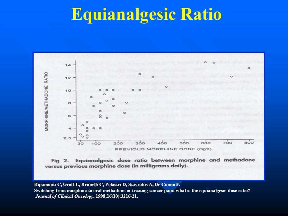 Equianalgesic Ratio Ripamonti C, Groff L, Brunelli C, Polastri D, Stavrakis A, De Conno F.