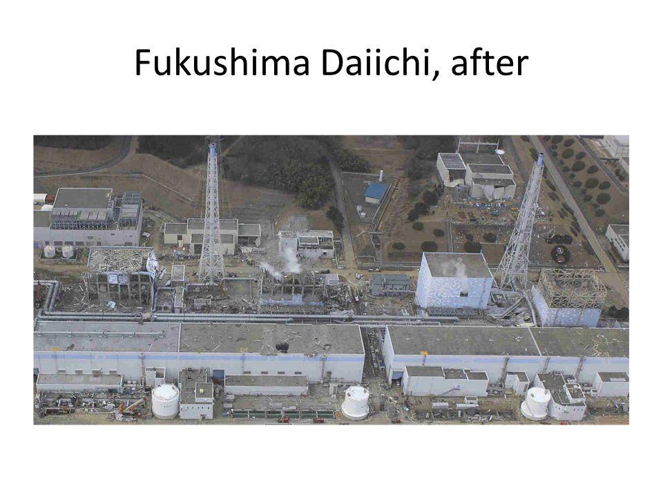 Fukushima Daiichi, after