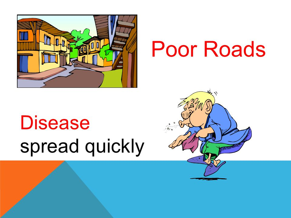 Poor Roads Disease spread quickly
