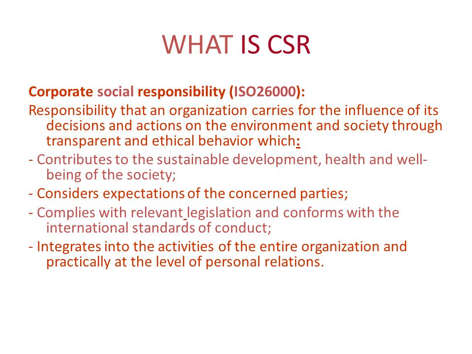 CSR in MEDIA Time Warner (Turner Broadcasting (CNN), AOL, New Line Cinema, HBO and Warner Bros Entertainment) CSR report– «Our financial success is closely related to our credibility and our independent editorial policy».