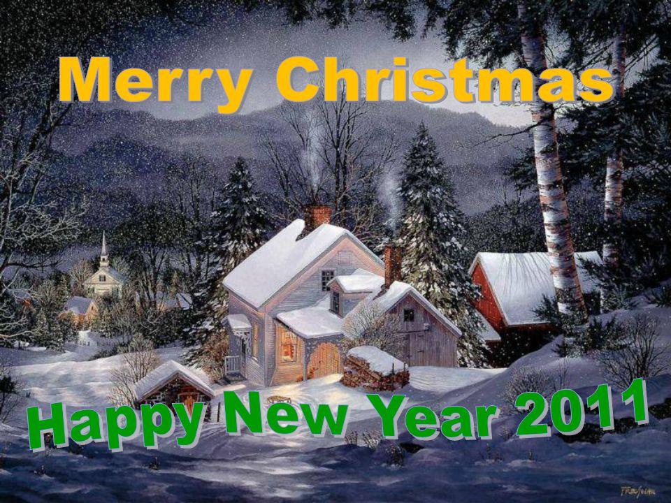 Merry Chritsmas. Happy new year 2011.