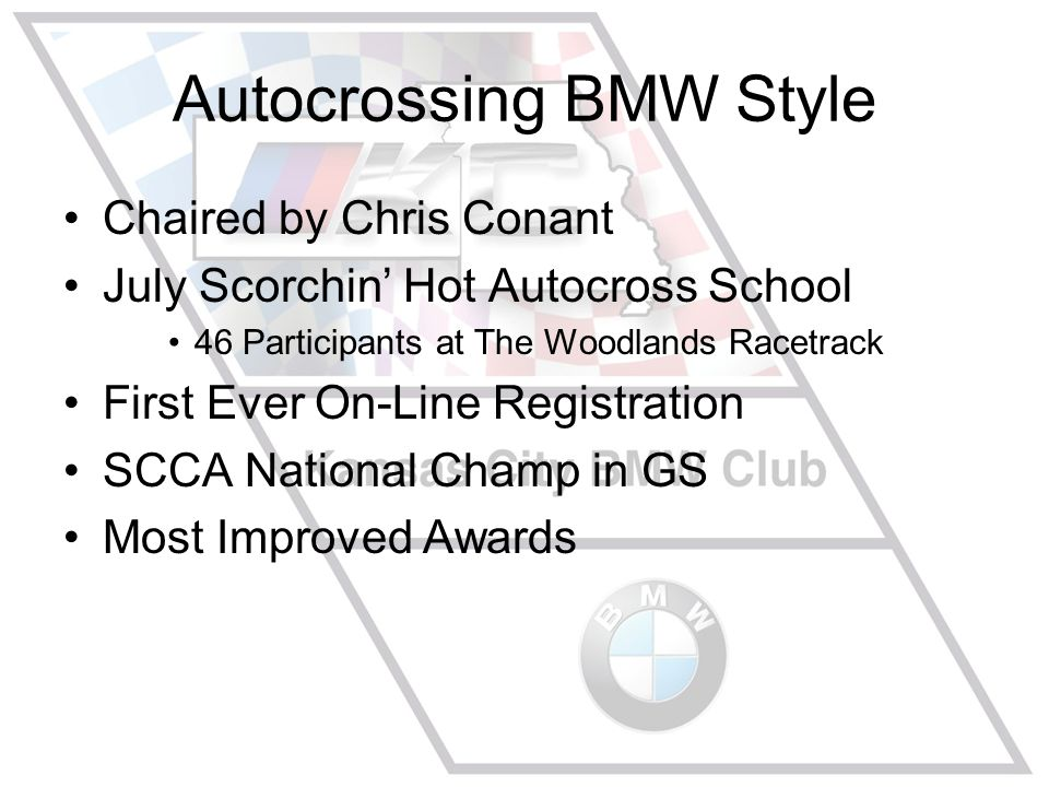 SCCA National Champ in GS Craig Wilcox