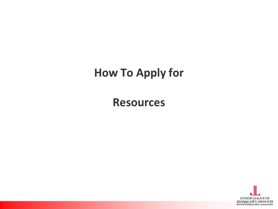 How To Apply for Resources Page 14