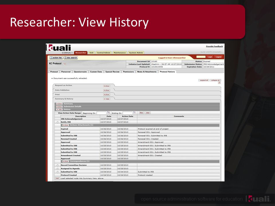 open source administration software for education Researcher: View History