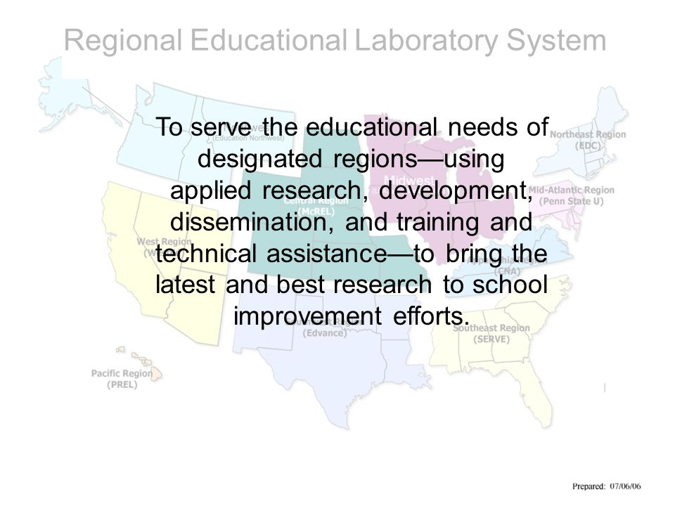 Regional Educational Laboratory System