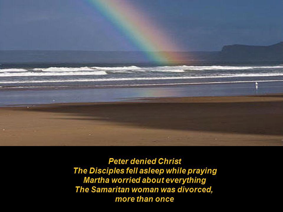 Isaiah preached naked Jonah ran from God Naomi was a widow Job went bankrupt