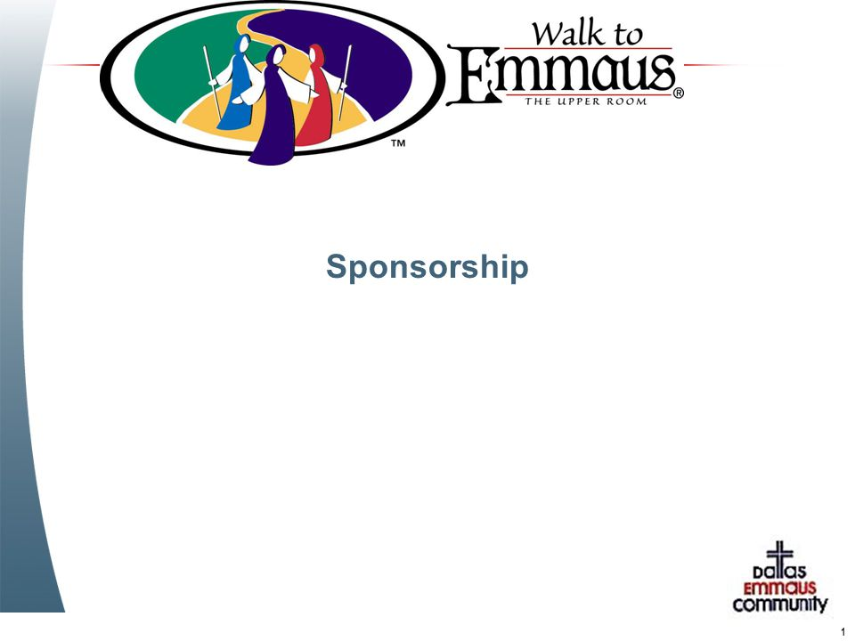 1 Sponsorship