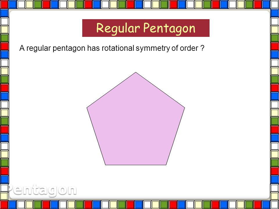 Square A square has rotational symmetry of order ? 12 3 4 4