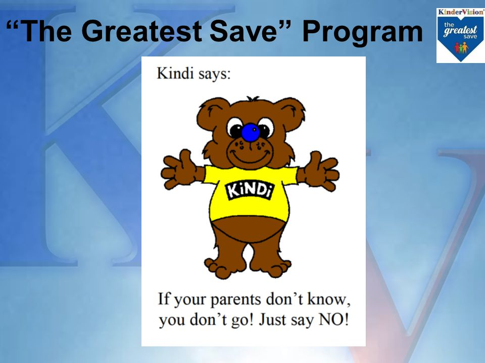 The Greatest Save Program