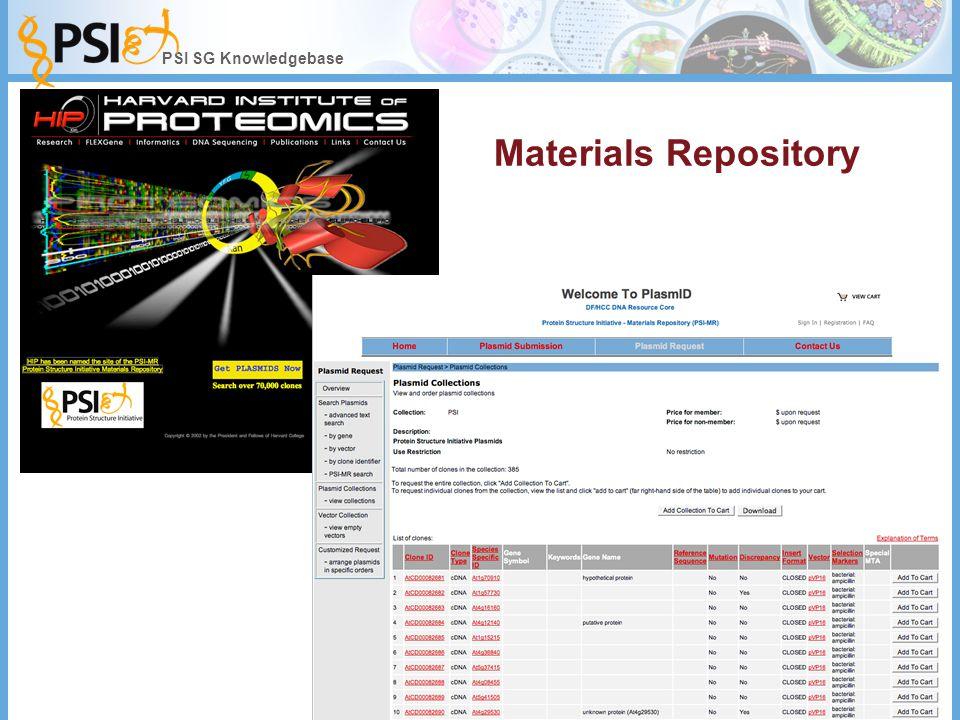 Materials Repository