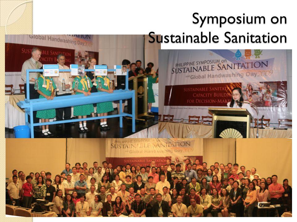 Symposium on Sustainable Sanitation