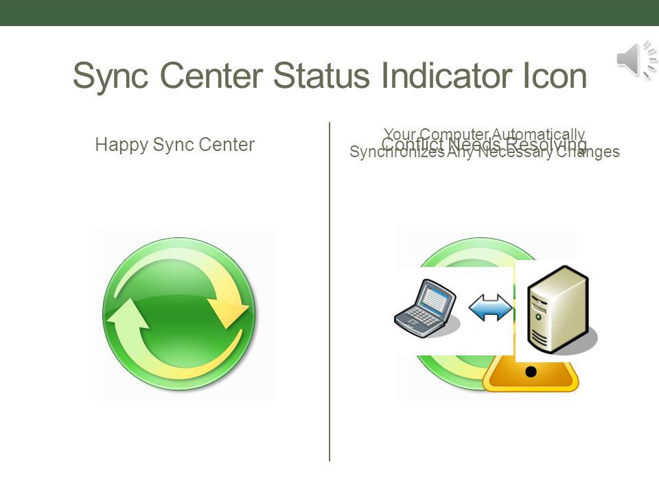 The Sync Center Windows XP Offline FilesWindows 7 Sync Center