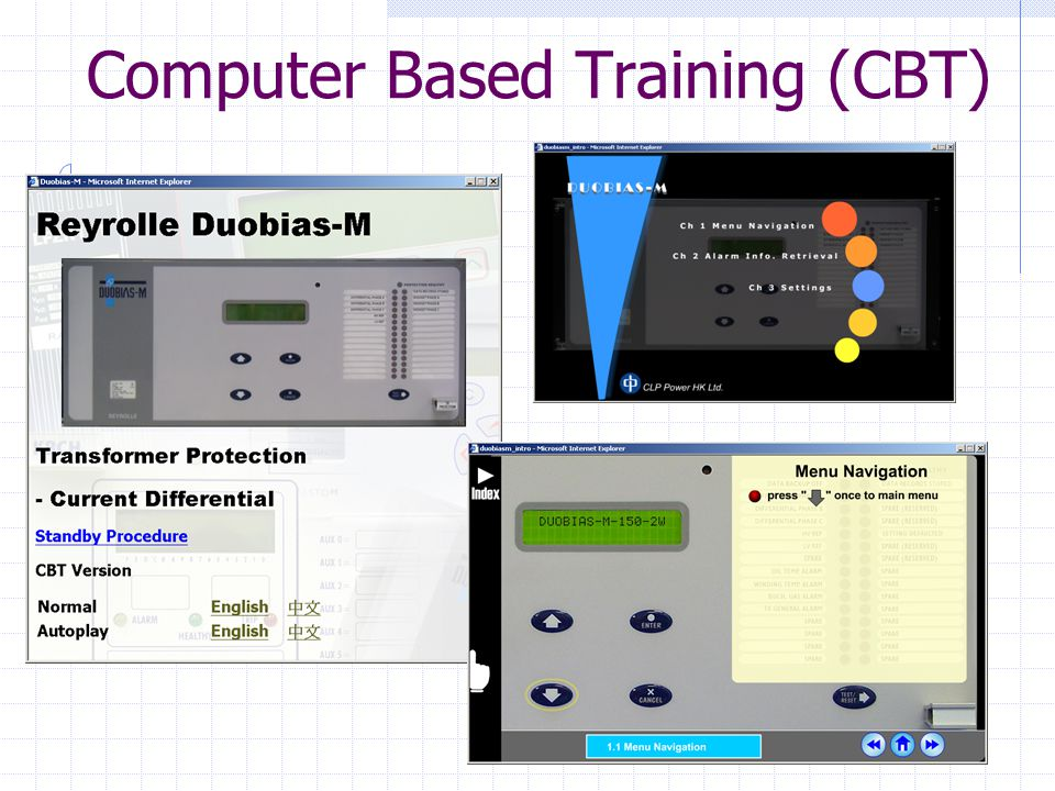 14 Computer Based Training (CBT)