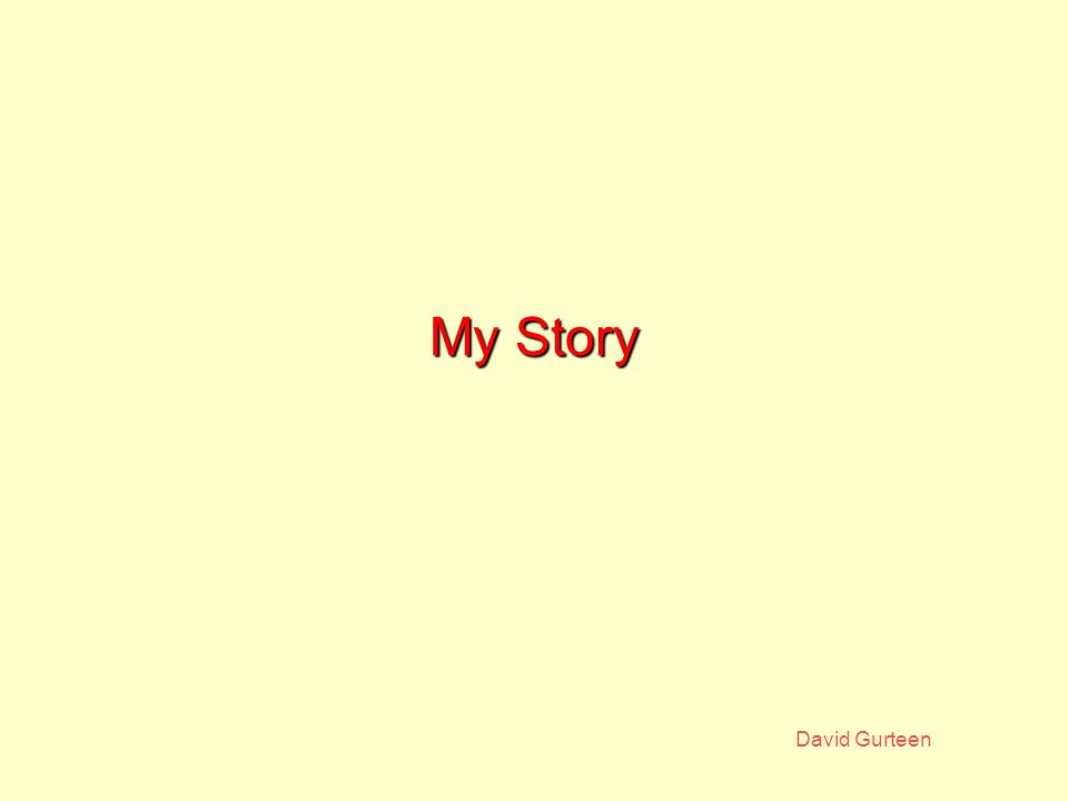David Gurteen My Website Created August 1999 Did not want to create a 'marketing' website Provide value through real content Demo my capabilities in an authentic way A resource for myself Built from existing material Lotus Notes based