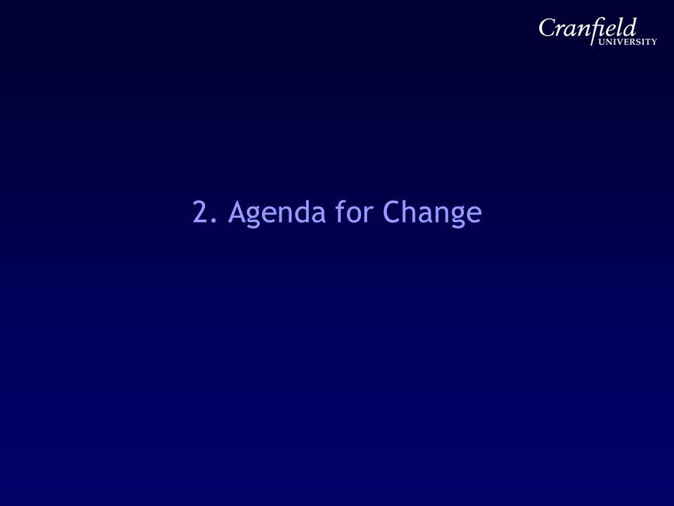2. Agenda for Change