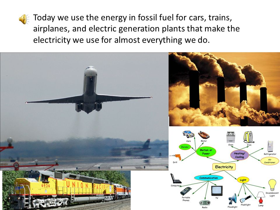 // Crude oil can be refined to make gasoline for cars, diesel fuel for trucks and trains, and jet fuel for airplanes.