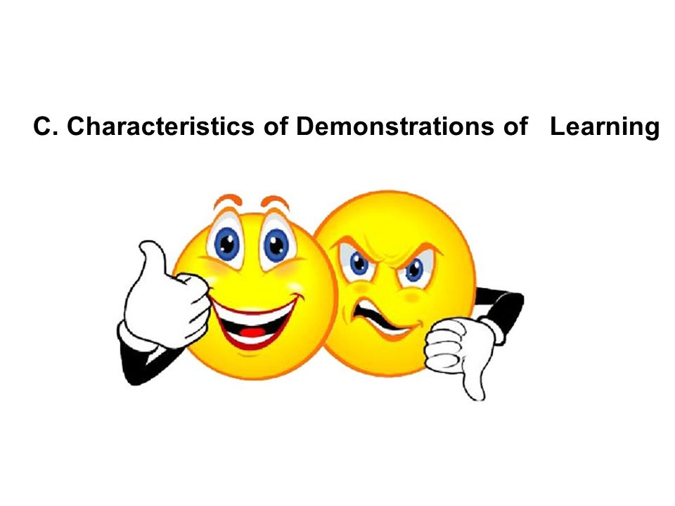 Characteristics of Demonstrations of Learning Students will complete a worksheet on circumference and diameter.