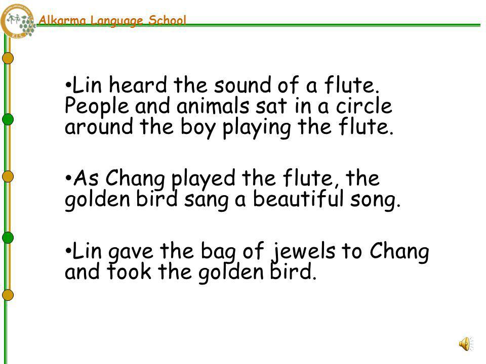 Alkarma Language School The Emperor's second son was called Lin.