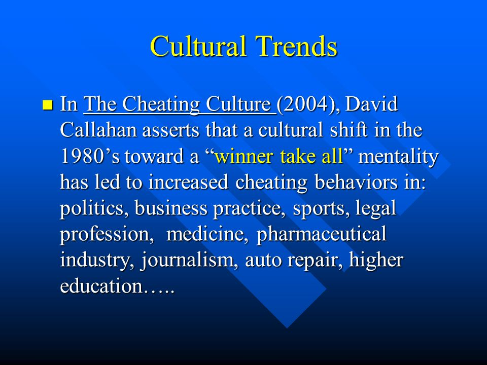 david callahan cheating culture essay