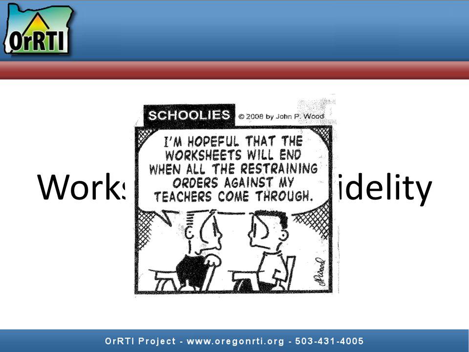 Worksheets Fidelity
