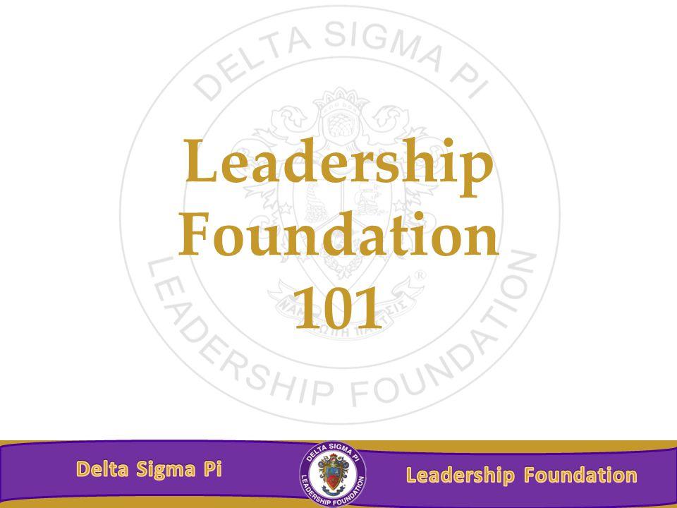 Leadership Foundation 101