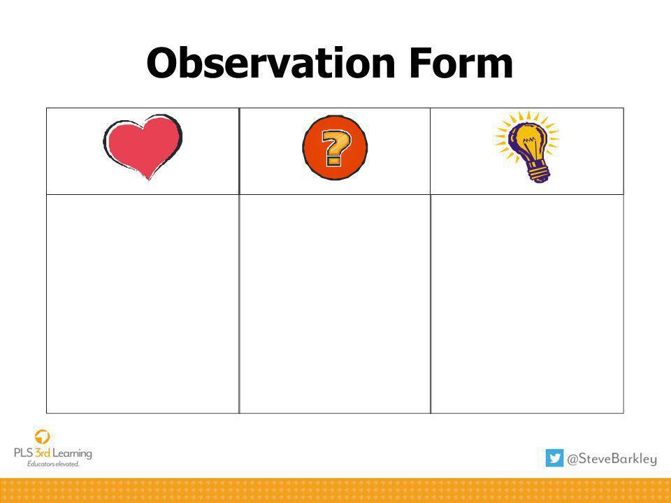 Observation Form