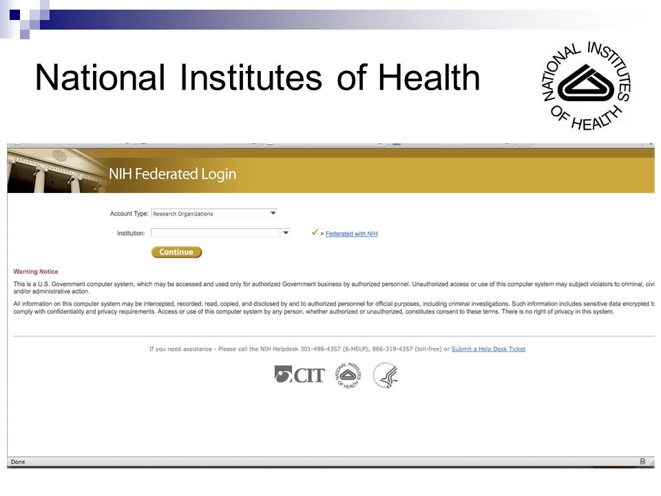44 National Institutes of Health
