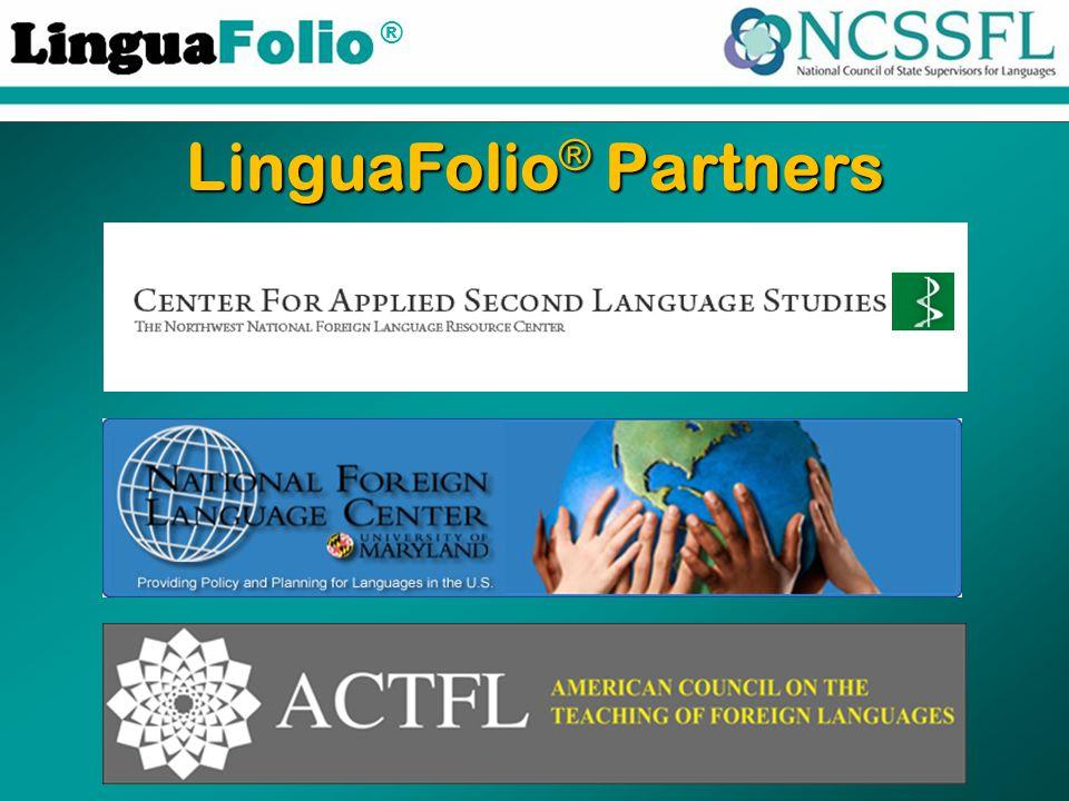® LinguaFolio ® Partners
