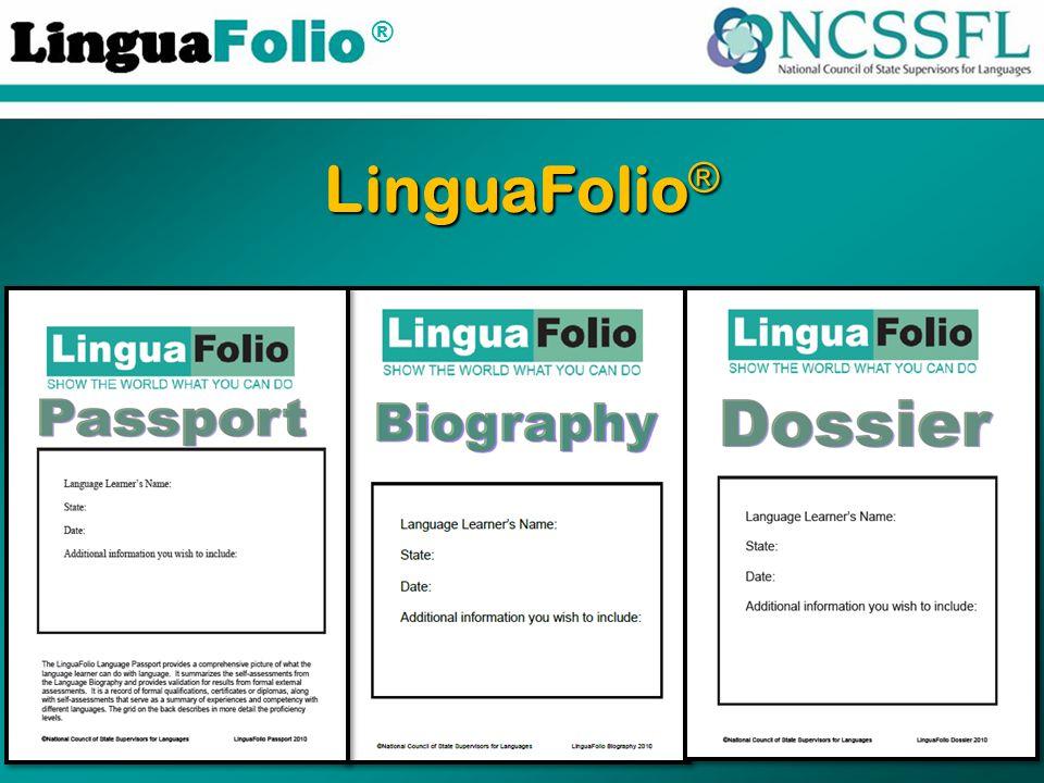 ® LinguaFolio ®