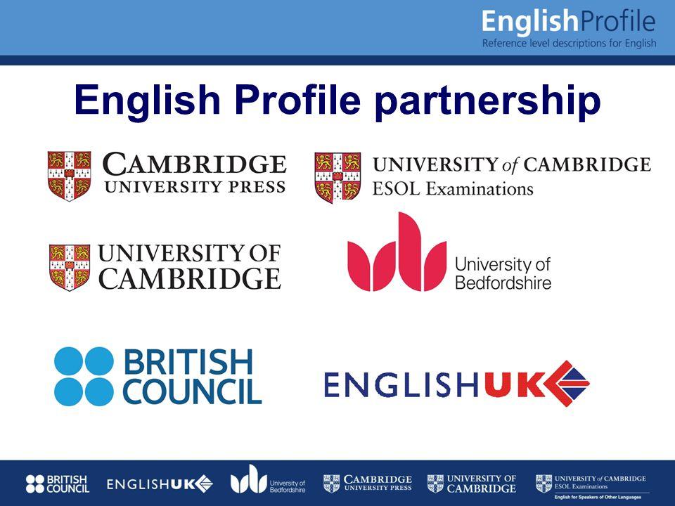 English Profile partnership