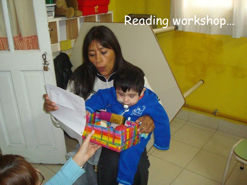 Reading workshop…