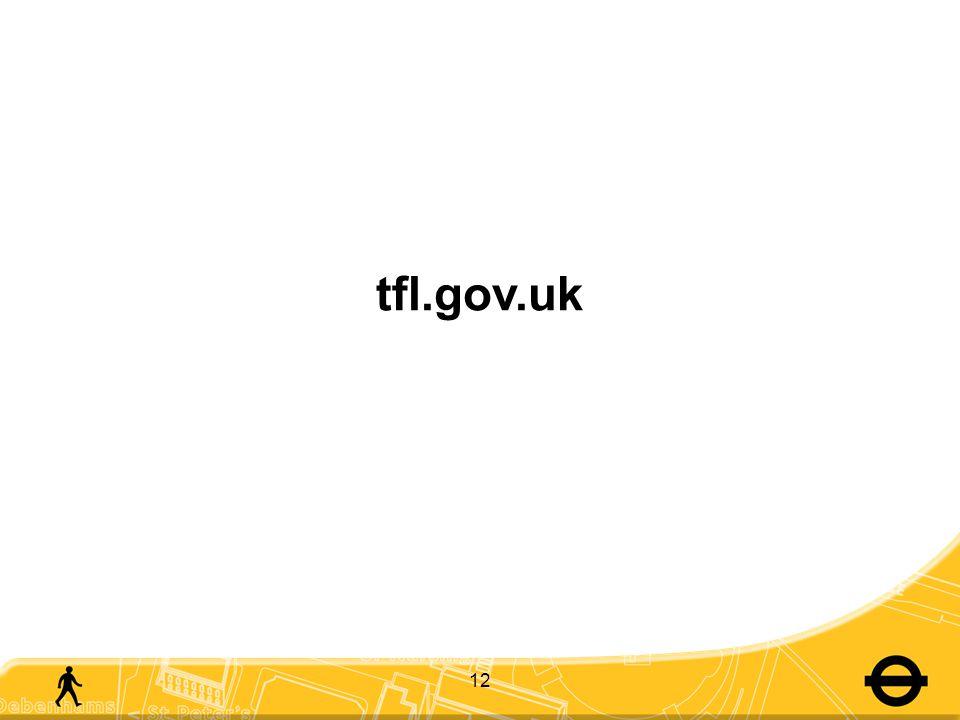 12 tfl.gov.uk