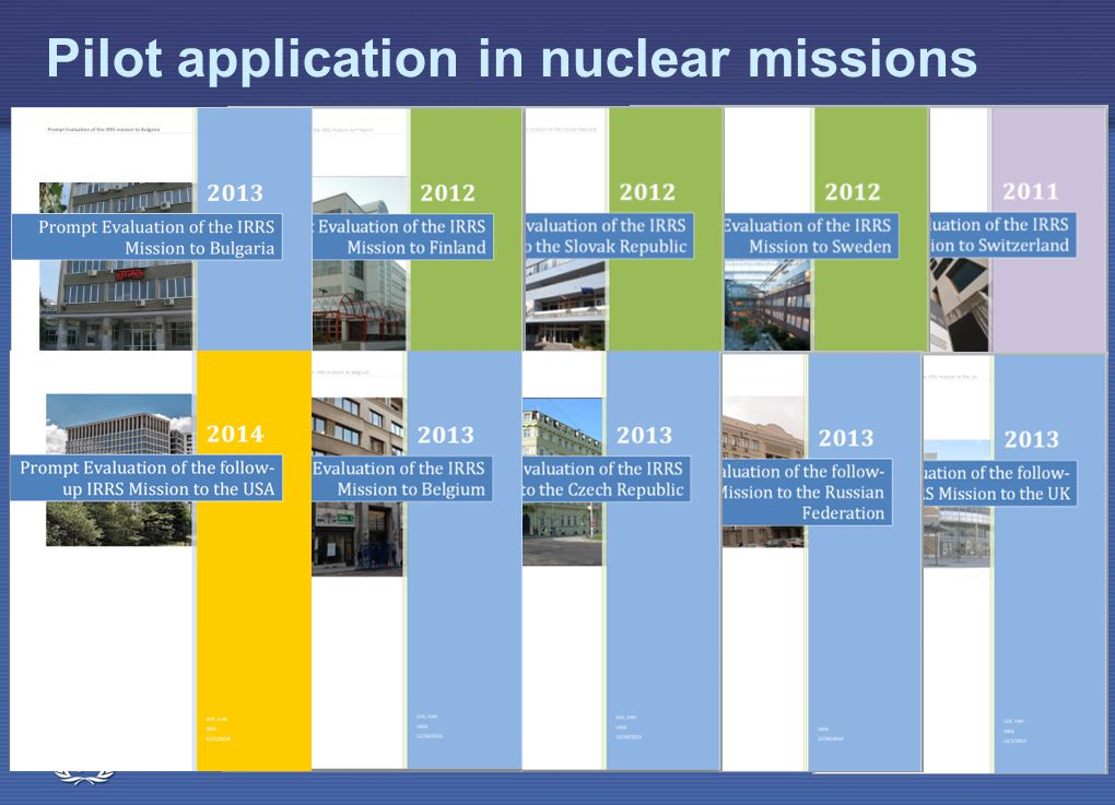 IAEA Pilot application in nuclear missions IRRS Mission overview40