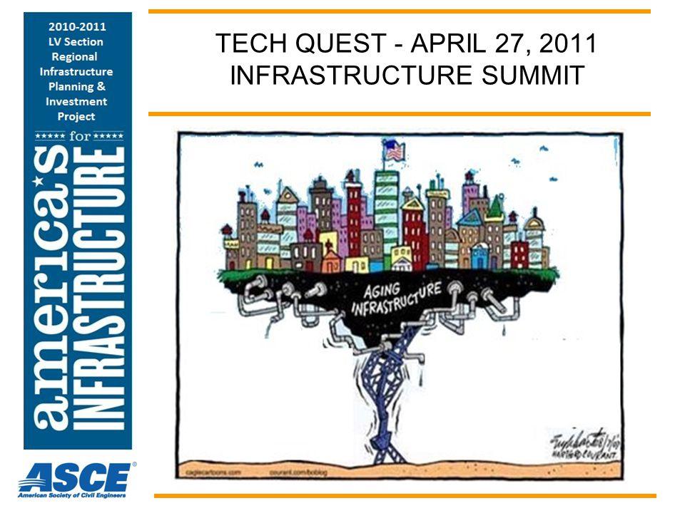 TECH QUEST - APRIL 27, 2011 INFRASTRUCTURE SUMMIT