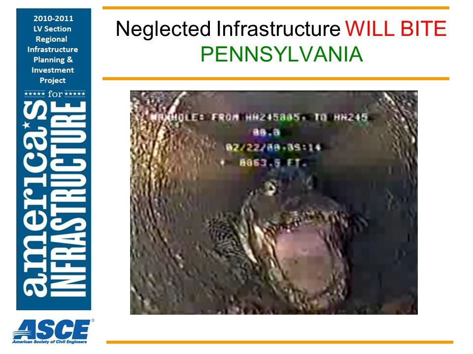Neglected Infrastructure WILL BITE PENNSYLVANIA