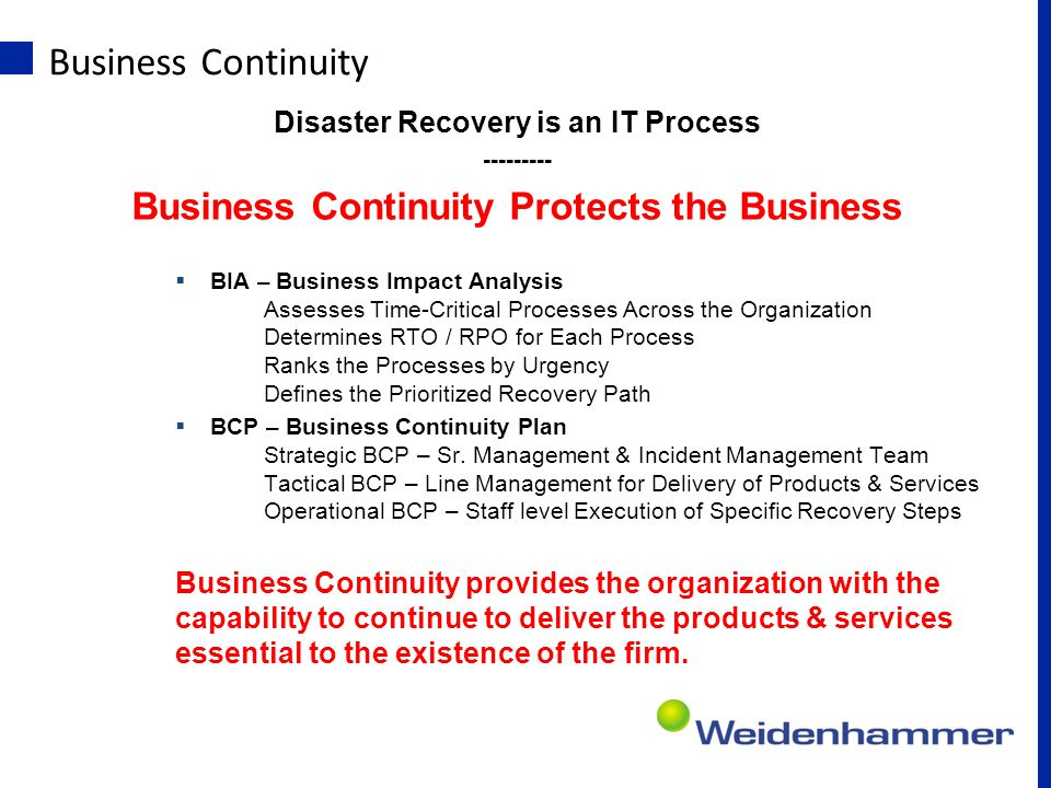Business Continuity Lifecycle Business Continuity Lifecycle – from Business Continuity Institute