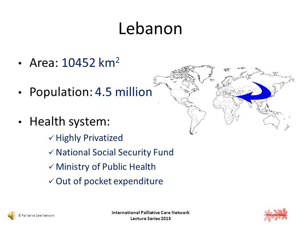 Outline Palliative Care Milestones in Lebanon Evolution of Models of Care Palliative care delivery in Lebanon: Challenges Facilitators Introducing Bal