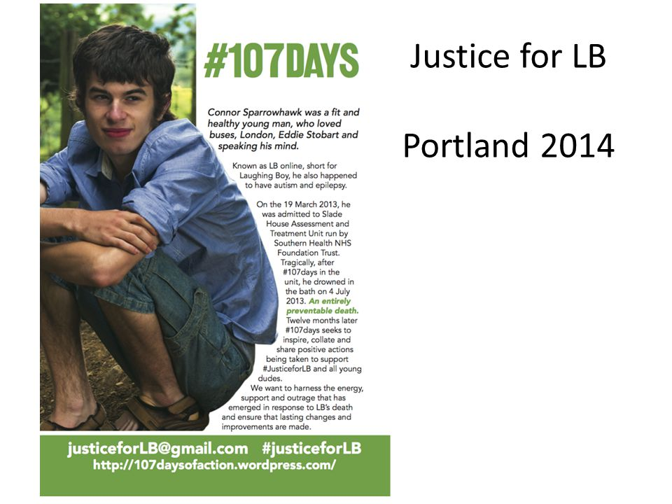 Justice for LB Portland 2014