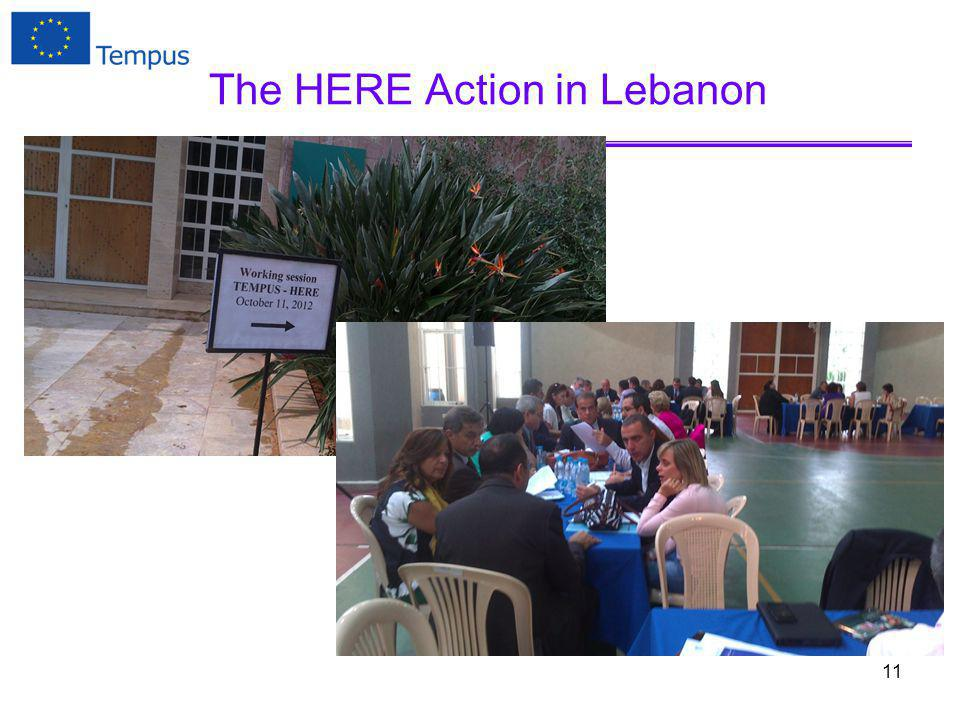 The HERE Action in Lebanon 11