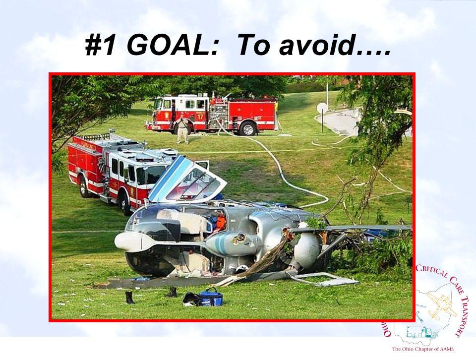 #1 GOAL: To avoid….