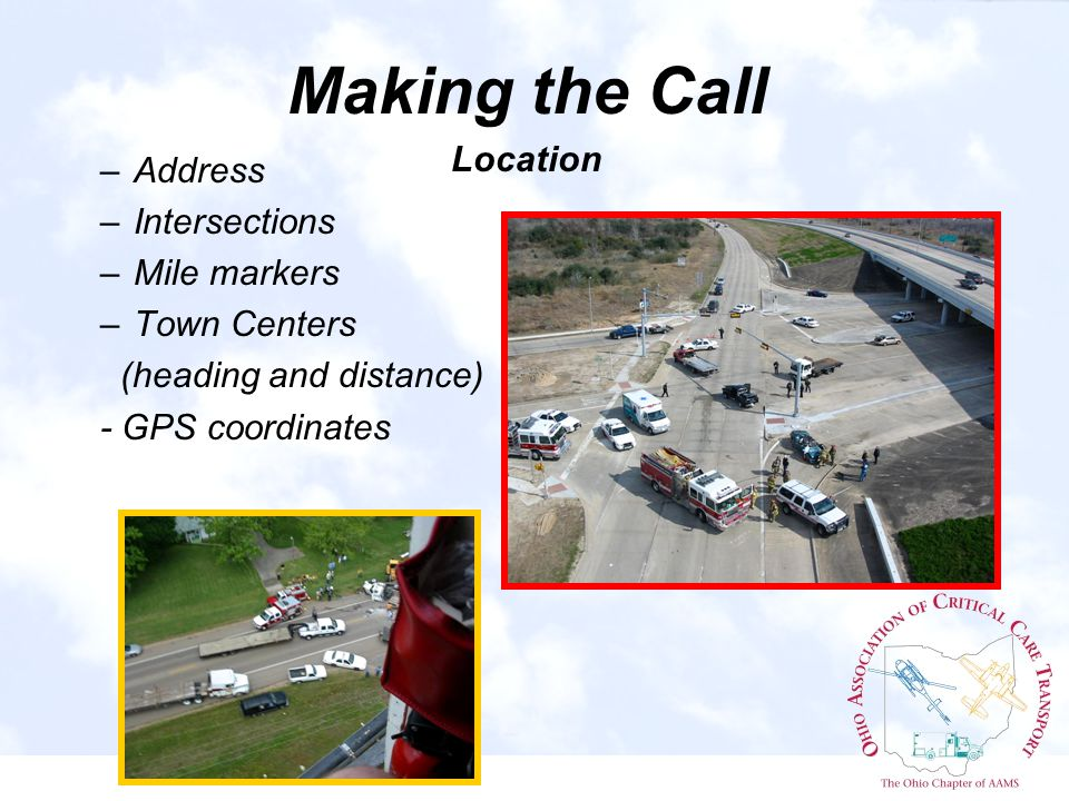 HAZMAT Situations Hazmat and Helicopters rule of Thumb Increase distance 1/4 to 1 mile away depending on size & type.